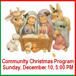 Community Christmas Program